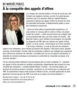 article Vertou Magazine 05.09.2017